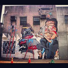 WIP. #streetart, #graffiti, #urban.