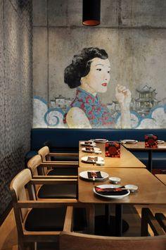 Ping Pong dim sum: el Shanghai más chic de los 30 se hace un hueco en Londres con Superfutures. | diariodesign.com