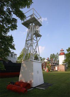 Grand Island Rear Range Light, Grand Island, New York (Lake Erie)