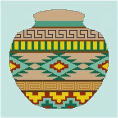 Arizona Pottery Cross Stitch von MartisXSDesigns auf Etsy
