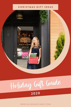 It's here! The holiday gift guide you've been looking for in 2020! This is the ultimate source for gifts for her, holiday décor, and even holiday pajamas! You'll be able to finish your list in no time! #christmasgiftideasformom #giftsforher #christmasgiftsforher