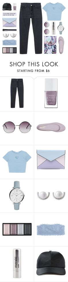 """""""❈ i got all my money on you"""" by december-berry ❤ liked on Polyvore featuring Monki, The Hand & Foot Spa, Massimo Matteo, Rebecca Minkoff, FOSSIL, NOVICA, Clé de Peau Beauté, Cosabella, Meraki and Alexander Wang"""