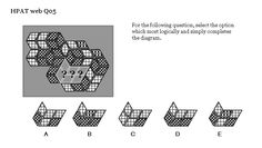 HPAT Tutor web Q05 Complete The Diagram The Diagram, This Or That Questions, Pattern, Patterns, Model, Swatch