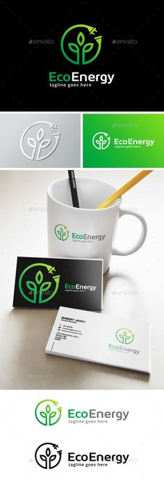 Green Energy Logo Template Transparent PNG, Vector EPS, AI Illustrator #logotype Download here: http://graphicriver.net/item/green-energy-logo/14145782?ref=ksioks