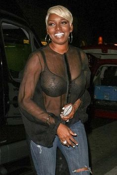Lingerie See through Sheer Horny | NeNe Leakes' See-Through Blouse Is a Sheer Disaster (PHOTO)