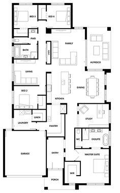 Lumina 312 Home Design – House Design Lumina 312 – House plans – layout Bungalow House Plans, New House Plans, Dream House Plans, Small House Plans, House Floor Plans, Hotondo Homes, Best Home Plans, Shipping Container House Plans, Home Design Floor Plans