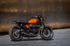 Triumph Street Twin by Down & Out Cafe Racers h/t