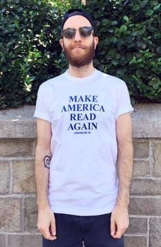 T-Shirt: Make America Read Again New Arrivals!