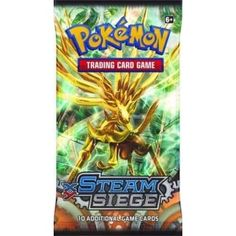 Pokemon Sealed Booster Pack (10 Cards) - XY Steam Siege
