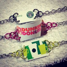 Petite Starbucks Coffee Bracelet https://www.etsy.com/listing/222779201/starbucks-coffee-lovers-bracelet-made?ref=shop_home_active_9