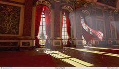 ArtStation - Hall of light, Alexander Samuelsson