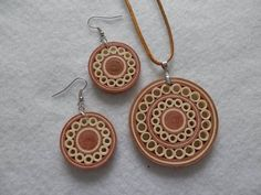 Quilling #PaperJewelry