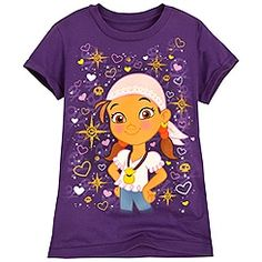 Jake and the Never Land Pirates Izzy Tee for Girls