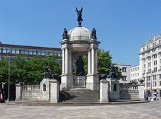 Queen Victoria Monument, Derby Square, Liverpool. The end of the street!