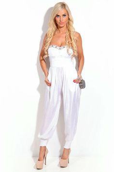 Guess Beverly seasonal zip jeans optic white