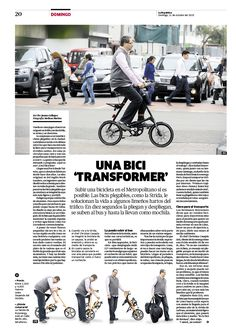 Diseño editorial de Revista Domingo del diario La República. Más diseños en mi blog www.columnasymodulos.blogspot.com