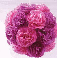 Akkela: Pompones de flores