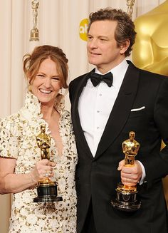 Colin Firth & Melissa Leo, Best Actor and Best Supporting Actress in 2010