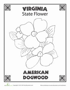 #Virginia State Symbol Coloring Page by Crayola. Print or