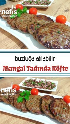 Lezzet Ötesi Mangal Tadında Köfte (Buzluğa Atılabilir) - Nefis Yemek Tarifleri - Et Yemekleri - Las recetas más prácticas y fáciles Yummy Recipes, Meat Recipes, Chicken Recipes, Dinner Recipes, Cooking Recipes, Yummy Food, Turkish Recipes, Meatball Recipes, Food To Make