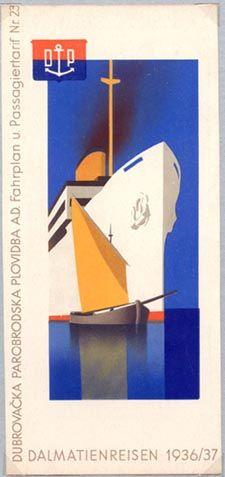 Yugoslavia. Dalmatienreisen 1936/37 by Hanns Wagula. Collection of David Levine.