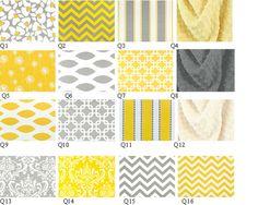Custom   Crib Baby Bedding 5pc Set  grey by CustomBabyCreations, $279.00