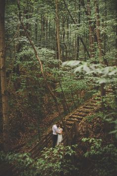 Millersburg Ohio Wedding in the Woods