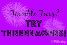 Terrible Twos? Try Threenagers! | Knoxville Moms Blog, parenting, motherhood, toddlers