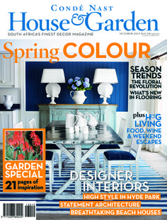 Cond Nast House Garden magazine South Africa September 2013