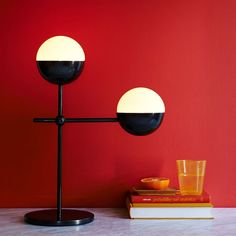 Globe Table Lamp by Kate Spade Saturday for West Elm also available as a standing lamp