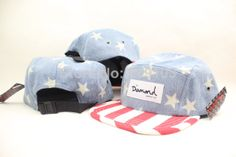 Free Shipping 2014 New Arrival Diamond Camper Strapback 5 Panel hat cap drop shipping $9.99