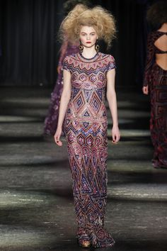 Naeem Khan   Fall/Winter 2016 Ready-to-Wear Collection via Naeem Khan   Modeled by ?   February 17, 2016; New York