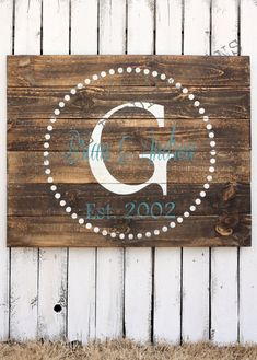 Custom+Wood+Sign+Established+Wood+Sign+by+VintageProdigySigns,+$75.00