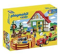 Playmobil 5058 - 1.2.3 Forsthaus: Amazon.de: Spielzeug
