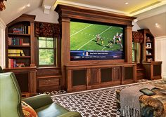 Wow...if this was in white it would be perfect for the basement media room!!!!