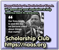 High School Students, High School Seniors, Test Preparation, Scholarships For College, King Jr, Martin Luther, Happy Birthday, How To Apply