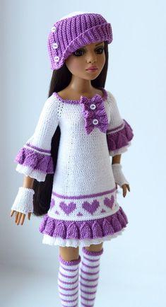 Watch This Video Incredible Crochet a Bear Ideas. Cutest Crochet a Bear Ideas. Knitting Dolls Clothes, Crochet Barbie Clothes, Knitted Dolls, Crochet Dolls, Crochet Baby, Barbie Fashion Sketches, Fashion Dolls, Barbie Patterns, Doll Clothes Patterns