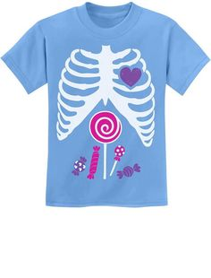 Kids//Youth Tuxedo Skeleton and Bat Comfortable T-Shirts Short Sleeve Children Tees Funny Creative