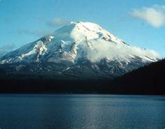 Mount St. Helens, Washington - before May 18, 1980 eruption