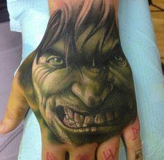 Josh Payne #tattoos #handtattoos