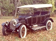 1913 Mighty Michigan Model R Touring car....One of the many auto manufactures that didn't survive...