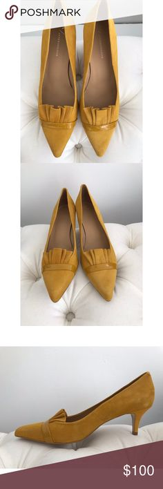 9f70ed17b88 Anthropologie Ruffled Kitten Heels  TOP RATED and sold out from  Anthropologie  Brand new