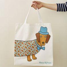 Larry the Long Dog Bag - Front