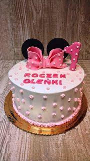 Torty ciasta i ciasteczka Joli: Roczek Oleńki