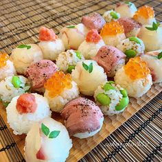 Home Recipes, Asian Recipes, Ethnic Recipes, Easy Cooking, Cooking Recipes, Sushi Platter, Japanese Sushi, Yummy Food, Tasty