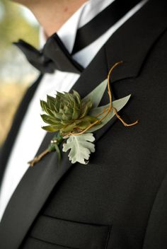 Wedding Trends: Boutonnieres