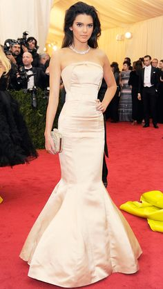 2014 Met Gala Red Carpet - Kendall Jenner from #InStyle