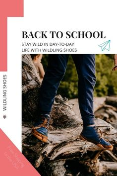 "Back to school after the summer means full days after a time filled with wild adventures. To carry that wild summer feeling into the time filled with appointments and classes, visit Wildling Shoes and get your very special ""Back to School"" deal with free shipping to the USA (until 9/13/20). picture by jessie.b.photo #wildlingshoes #freechildhood #wildchildhood #goodbyesummer #helloschool #backtoschool #naturalchildhood #barefootshoes #minimalshoes #madeinEurope #designedinGermany #befree Vegan Fashion, Slow Fashion, Minimal Shoes, Back To School Deals, Walking Barefoot, Barefoot Shoes, Natural Parenting, Summer Feeling, Vegan Shoes"