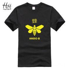 Hanhent би 00892 B сообщаем футболки мужчин телесериал футболку хлопок гейзенберг широкий спортивные смешные футболки добычу одеждакупить в магазине HanHent T-Shirt Flagship MallнаAliExpress