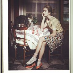 Very Proud that our checkered #top appeared in this gorgeous, intimate portrait on Vanity Fair Italia